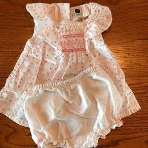 Baby dress with diaper cover 6-12 month